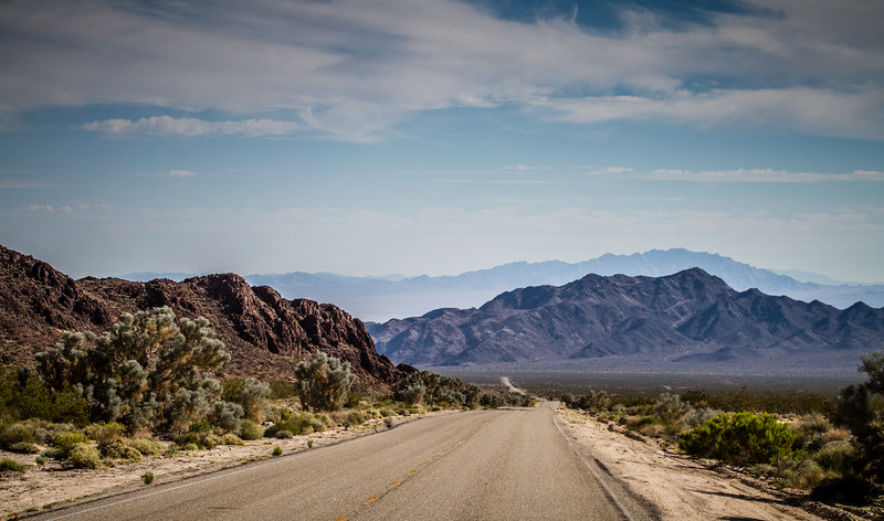 Driving Into the Desert