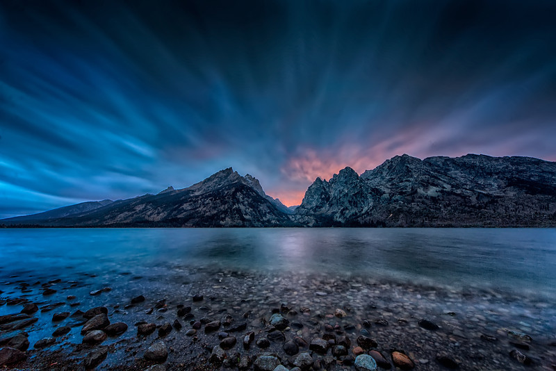 Goodnight Over The Tetons