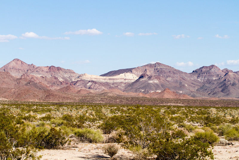 Mountains at the Mojave