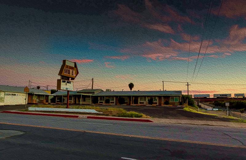 Gas Station, Needles, California