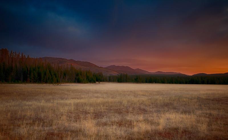 Dawn, Yellowstone