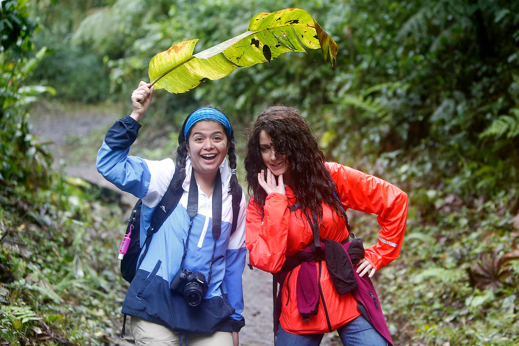Visiting the Monteverde reserve cloud forest for a hike with naturalist Mark Wainwright.