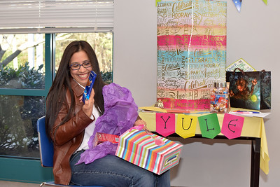 Yuleyska Barron's farewell party from UC