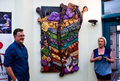 University City Library's Culture Art Reveal
