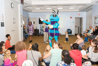 Hugo the Hornet at University City Regional Library