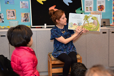 Leanda Gahegan's storytime program
