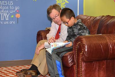 Lee Keesler, CML Reading Buddy
