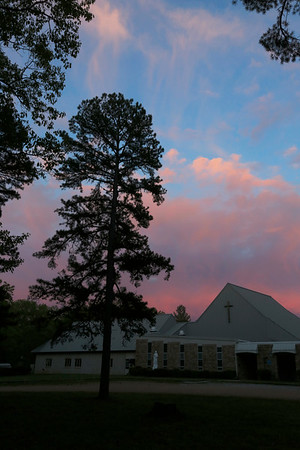 Assumption Abbey is nestled into the hills of the Ozarks in southern Missouri.