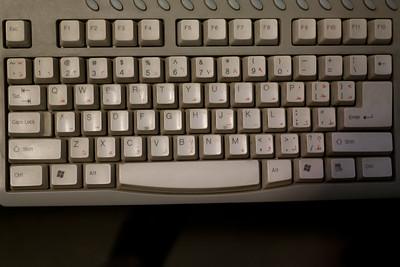 An Arabic PC keyboard