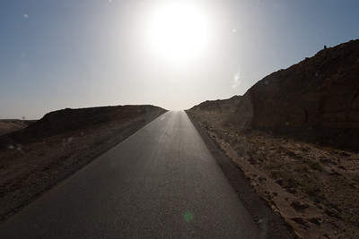 Traveling from Nalut to Ghadames, Libya
