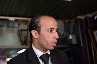 Mourad, our guide in Tripoli