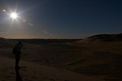 Just over the border inside Tunisia near Ghadames, Libya