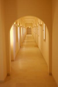 Hotel Hallway in Ghadames, Libya