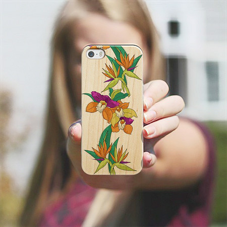 FLORAL PARADISE Wood cover