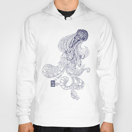 BLUE JELLYFISH Hoody