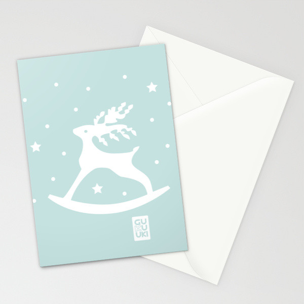 DEER ROCKER card