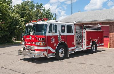 Hartford Volunteer Fire Dept E-961