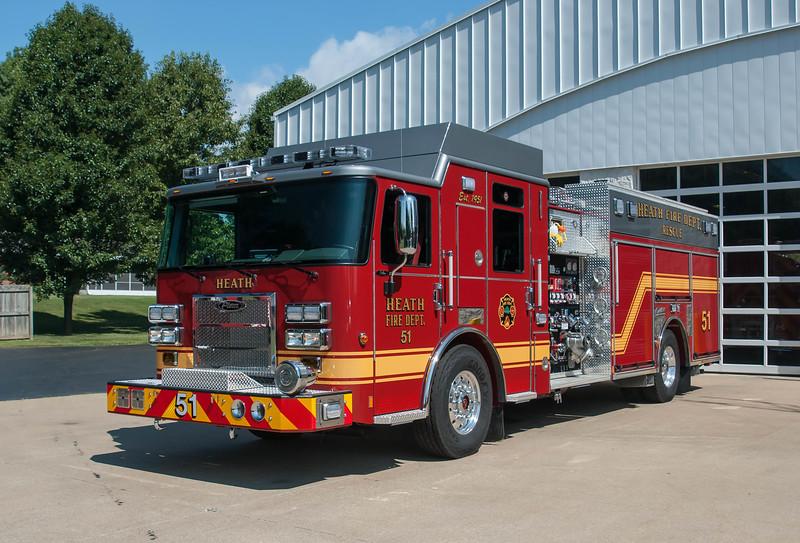 Heath Fire Dept E-51