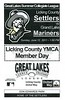 Sunday, June 12, 2011 - Grand Lake Mariners at Licking County Settlers - Great Lakes Summer Collegiate League - Newark, Ohio
