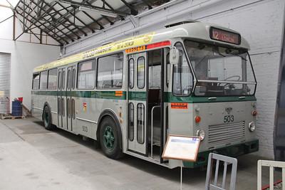 Musée des Transport en commun du Pays de Liège 503 Vennes_Fétinne Depot Apr 13