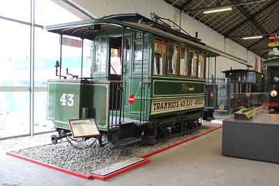 Musée des Transport en commun du Pays de Liège 43 Vennes_Fétinne Depot Apr 13
