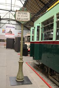Musée des Transport en commun du Pays de Liège 321 plus signage Vennes_Fétinne Depot Apr 13