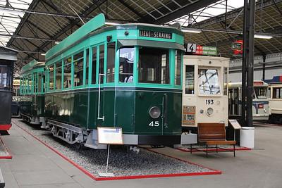 Musée des Transport en commun du Pays de Liège 45 Vennes_Fétinne Depot 1 Apr 13
