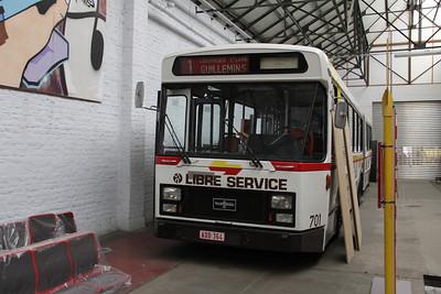 Musée des Transport en commun du Pays de Liège 703 Vennes_Fétinne Depot Apr 13