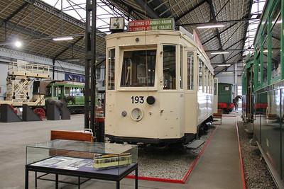 Musée des Transport en commun du Pays de Liège 193 Vennes_Fétinne Depot 3 Apr 13