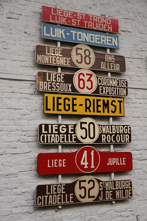 Belgium : Liege Transport Museum/Musée des Transport en commun du Pays de Liège