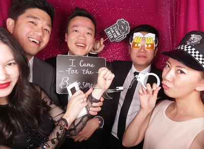 Liem & Cheng Photobooth Photos