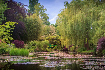 Claude Monet's Waterlily Pond, Giverny, France