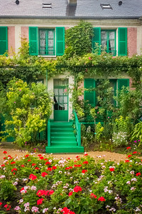 Entrance To Claude Monet's Home, Giverny 2