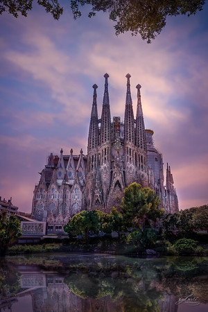 Sagrada Familia in Barcelona, Spain 2016
