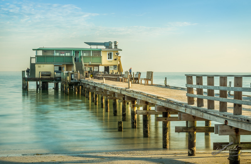 Rod and Reel Pier, Anna Maria Island in Florida