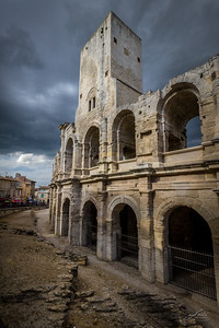 Roman Colosseum in Arles, France