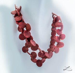 Red Jewelry At Imagine Museum Retail Store