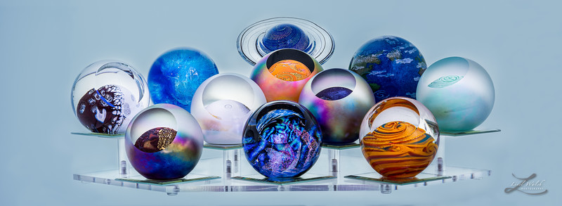 Paperweights in Retail Area Imagine Museum
