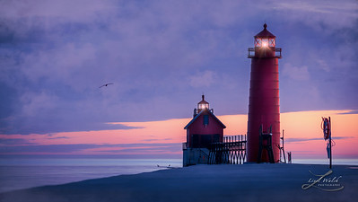Grand Haven Lighthouses, Michigan 3