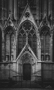 Gated Entrance to Notre Dame, Paris 2016