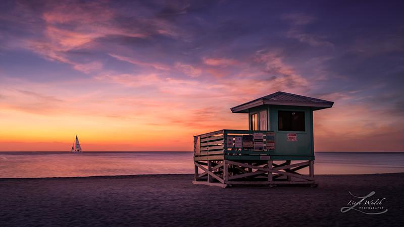 Venice Beach  Lifeguard Stand, Florida