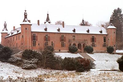 Rixensart - Château sous la neige