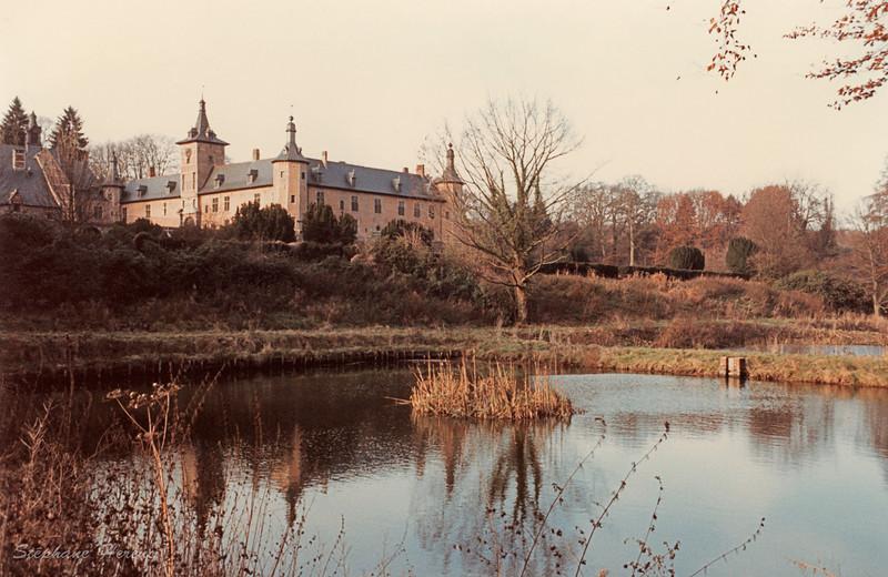 Château de Rixensart en décembre 1985