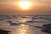 Coucher de soleil sur Zeebrugge