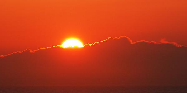 Coucher de soleil - Parc national des Hautes-Terres du Cap Breton