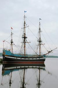 Life size replica of the Hector - Pictou, Nova Scotia
