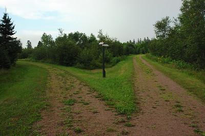 Confederation bike trail, Prince Edward Island