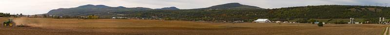 Sentier en milieu agricole