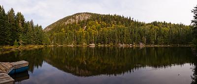 Lac Danger & Montagne de Marbre