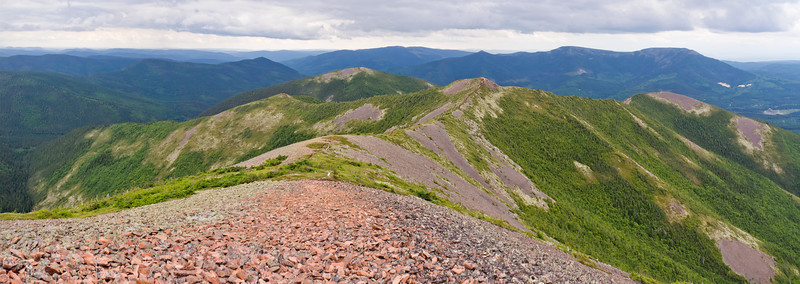 Mont Vallières-de-Saint-Réal - Réserve faunique des Chic-Chocs
